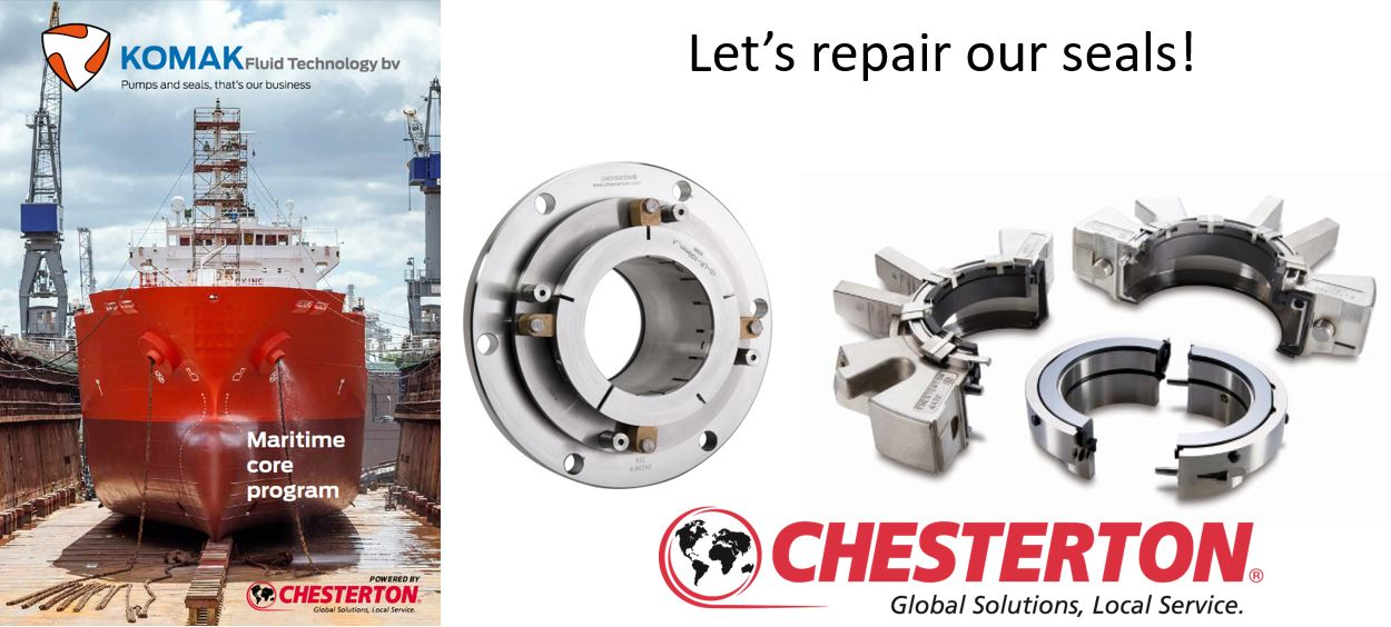 Mechanical seal revision and refurbishment